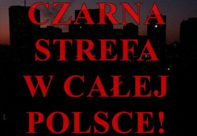 Czarna strefa w całej Polsce. W piątek totalne zamknięcie wszystkiego!