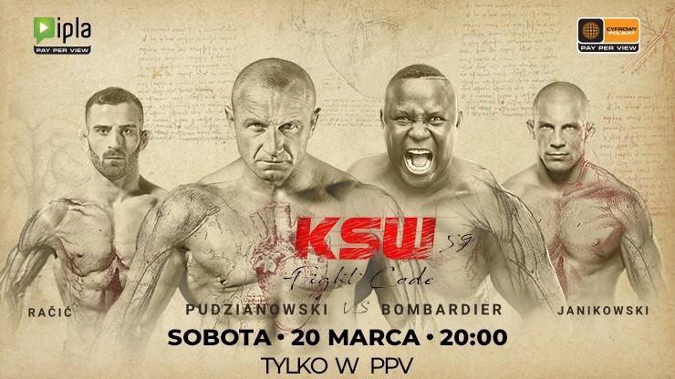 KSW 59. Karta walk [ZAPOWIEDŹ] - Portal-polski.pl