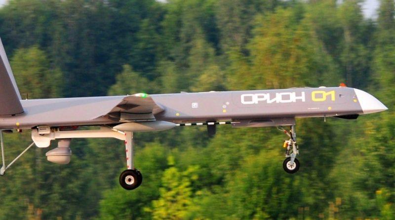 Rosyjskie drony bojowe w akcji nad Syrią [WIDEO]