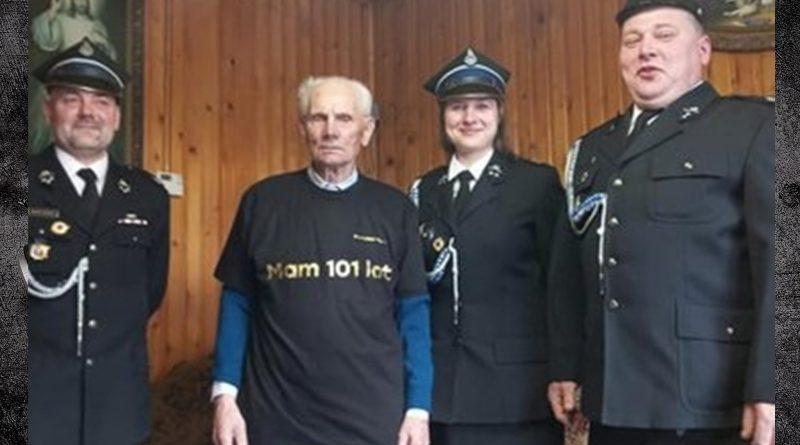 Najstarszy strażak w Polsce skończył 101 lat!