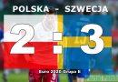 EURO 2020 koniec marzeń: Polska – Szwecja 2:3