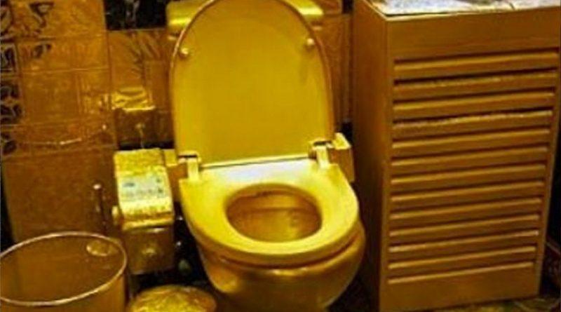 """Rosyjski pułkownik """"dorobił"""" się pałacu i luksusów. Miał nawet złote sedesy!"""