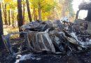 Tragiczny finał policyjnego pościgu. Czterech mężczyzn zginęło w płomieniach